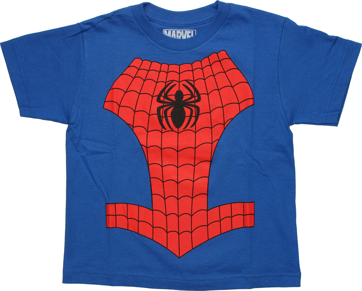 spiderman costume juvenile t shirt stylin online. Black Bedroom Furniture Sets. Home Design Ideas