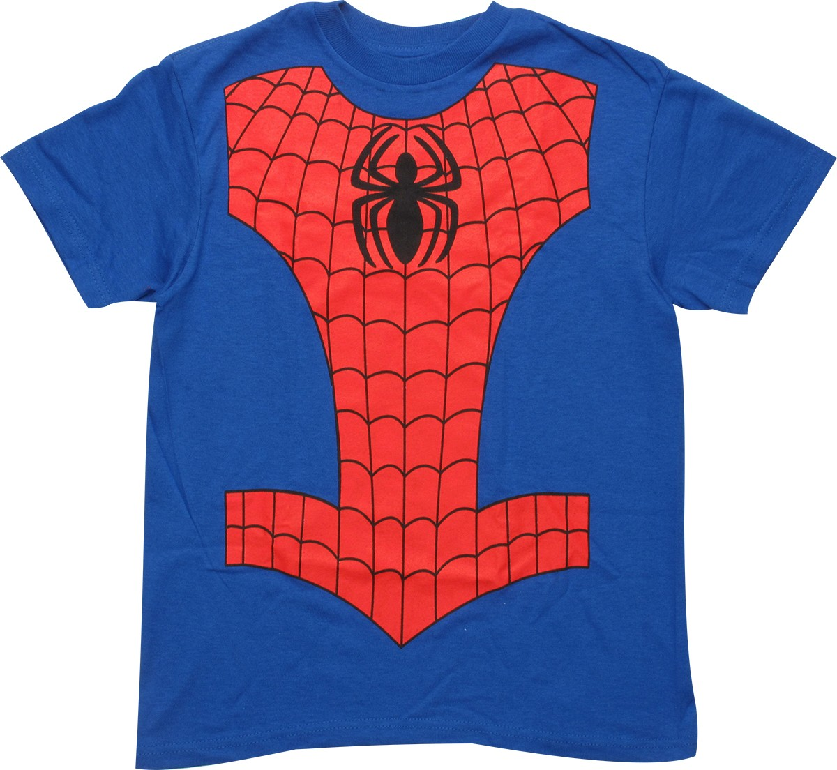 spiderman costume youth t shirt. Black Bedroom Furniture Sets. Home Design Ideas