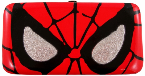 Spiderman Face Clutch Wallet