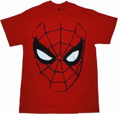 Spiderman Mask T Shirt