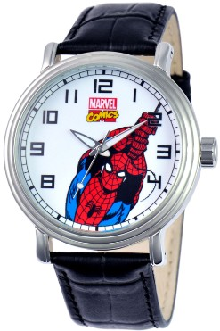 Spiderman Mens Vintage Black Watch