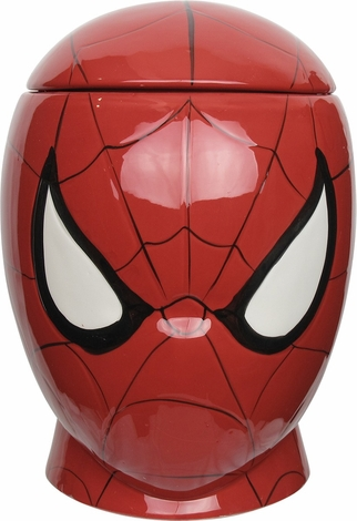 Spiderman Molded Head Cookie Jar
