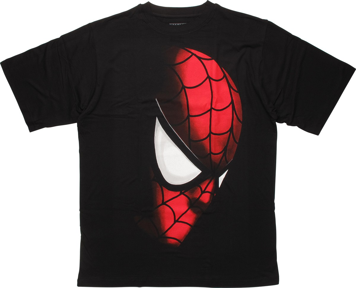spiderman shade profile urban t shirt. Black Bedroom Furniture Sets. Home Design Ideas
