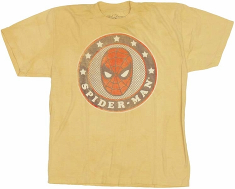 Spiderman Star Youth T Shirt