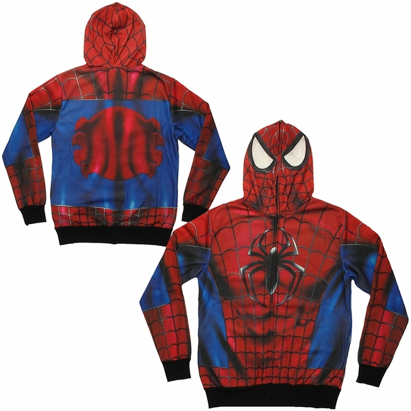 The Spiderman: Premium Hoodie is officially licensed Marvel merchandise. You can be confident that it will be of the highest quality and give you that warm, fuzzy .