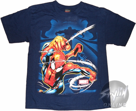 Spiderman Swing Youth T-Shirt