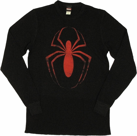 Spiderman Thermal Long Sleeve T Shirt
