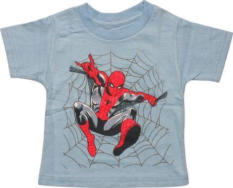 Spiderman Web Jump Infant T-Shirt