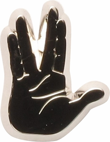 Star Trek Vulcan Live Long and Prosper Pin