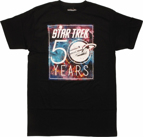 Star Trek 50 Years Mighty Fine T-Shirt