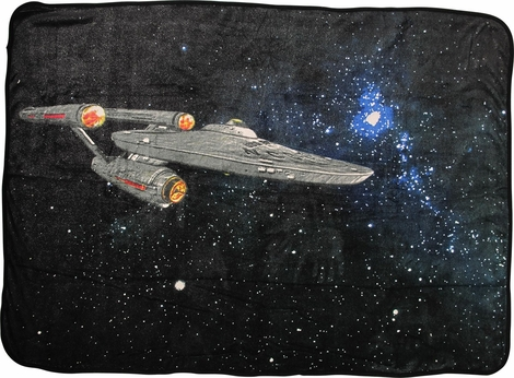 Star Trek 50th Anniversary Enterprise Blanket
