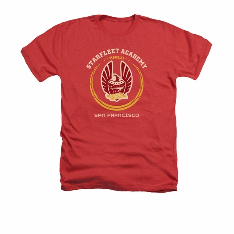 Star Trek Academy Heraldry Heather T Shirt