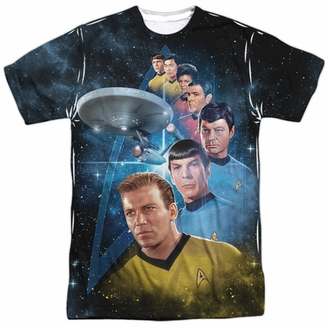 Star Trek Among the Stars Sublimated T Shirt
