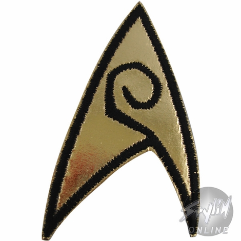 Star Trek Badge Engineer Patch