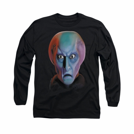 Star Trek Balok Head Long Sleeve T Shirt