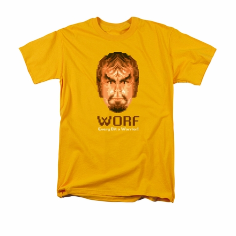 Star Trek Bit Warrior T Shirt