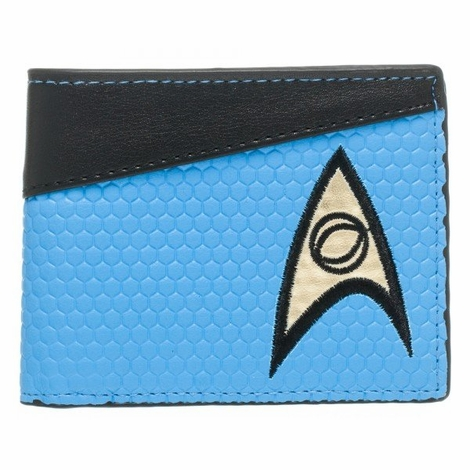Star Trek Blue Sciences Wallet