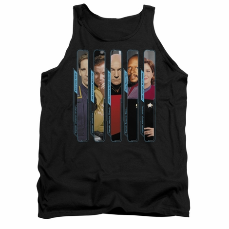 Star Trek Captains Tank Top