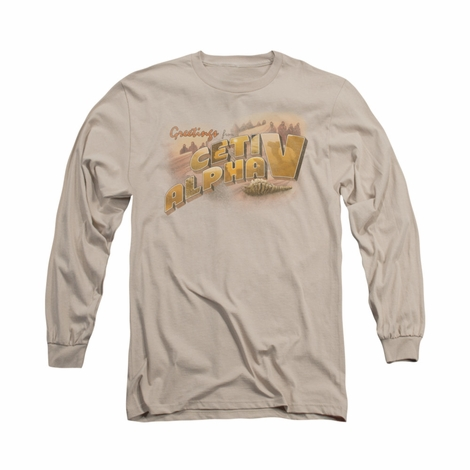 Star Trek Ceti Alpha V Long Sleeve T Shirt