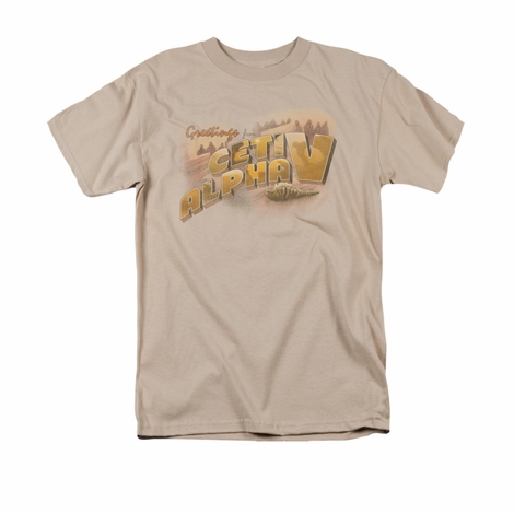 Star Trek Ceti Alpha V T Shirt