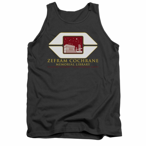 Star Trek Cochrane Library Tank Top