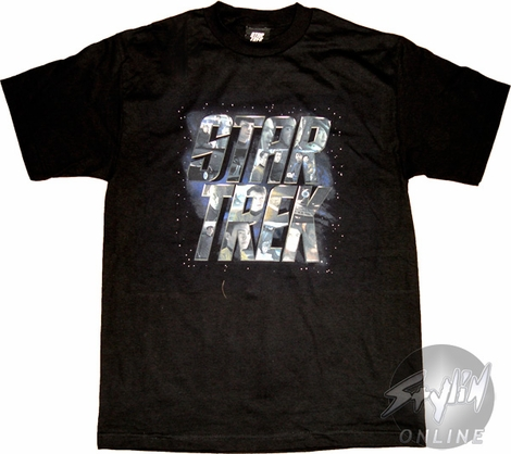 Star Trek Collage T-Shirt