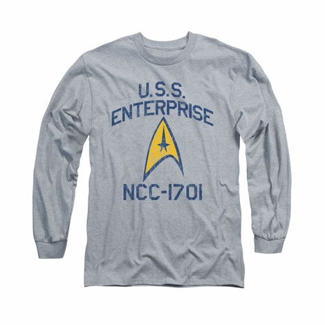 Star Trek Collegiate Arch Long Sleeve T Shirt