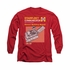 Star Trek Comm Manual Long Sleeve T Shirt