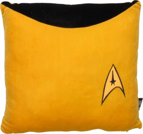 Star Trek Command Gold Pillow