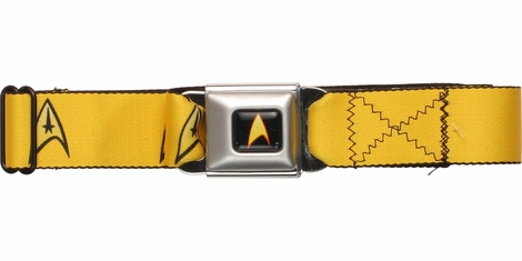 Star Trek Command Officer Logo Seatbelt Mesh Belt