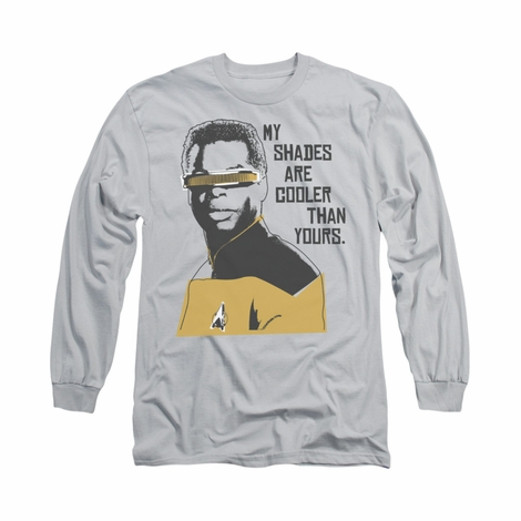 Star Trek Cooler Shades Long Sleeve T Shirt