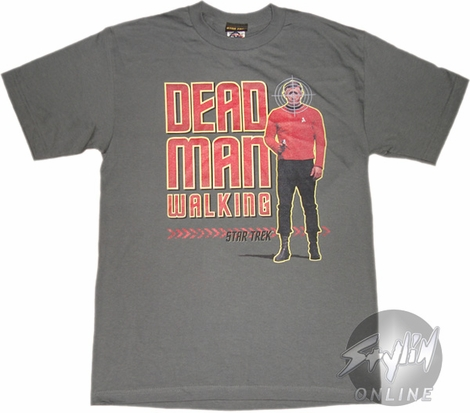 Star Trek Dead Man Walking T-Shirt