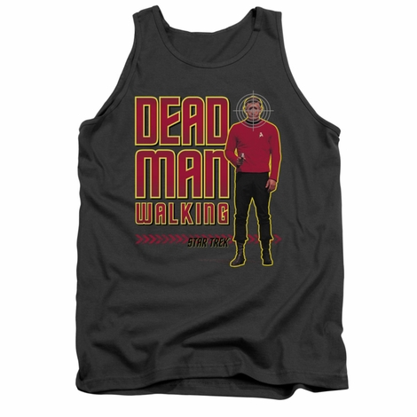 Star Trek Dead Man Walking Tank Top