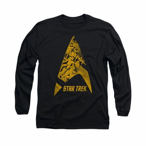 Star Trek Delta Crew Long Sleeve T Shirt