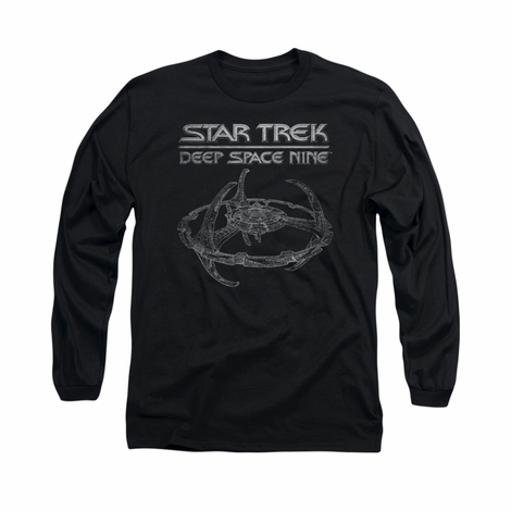 Star Trek DS9 Station Long Sleeve T Shirt