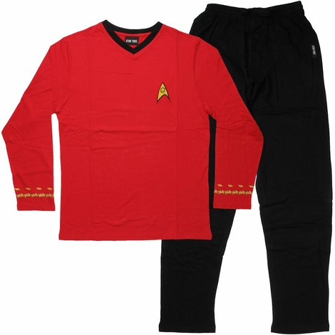 Star Trek Engineering Pajama Set