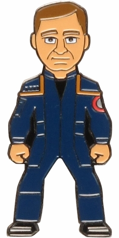 Star Trek Enterprise Captain Archer Pin