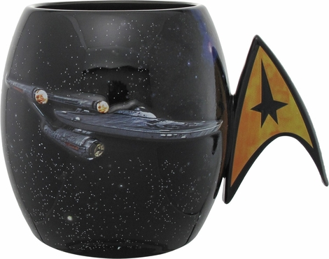 Star Trek Enterprise Jumbo Molded Mug