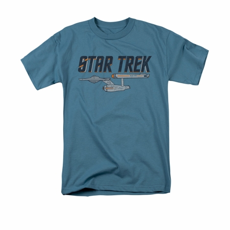 Star Trek Enterprise Logo T Shirt