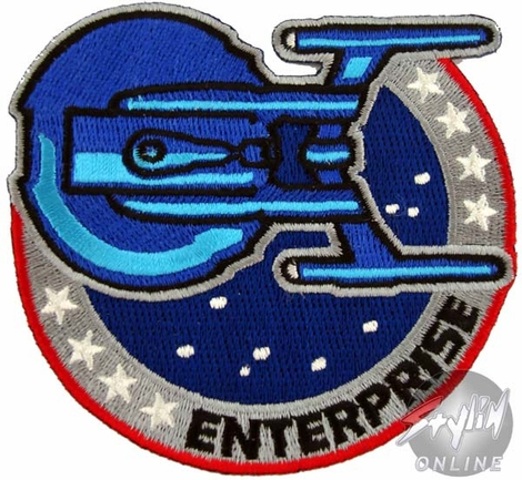 Star Trek Enterprise Space Patch