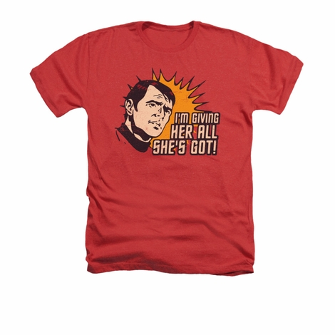 Star Trek Everything Heather T Shirt