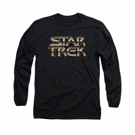 Star Trek Feel the Steel Long Sleeve T Shirt