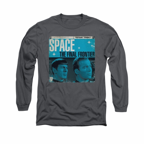 Star Trek Final Frontier Cover Long Sleeve T Shirt