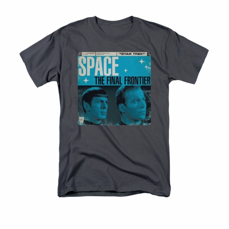 Star Trek Final Frontier Cover T Shirt