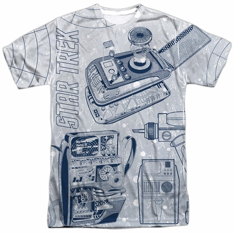 Star Trek Gadgets Sublimated T Shirt