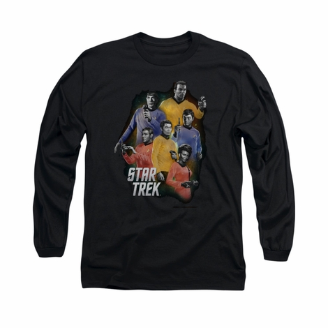 Star Trek Galaxy Glow Long Sleeve T Shirt