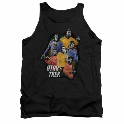 Star Trek Galaxy Glow Tank Top