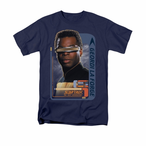 Star Trek Geordi La Forge T Shirt