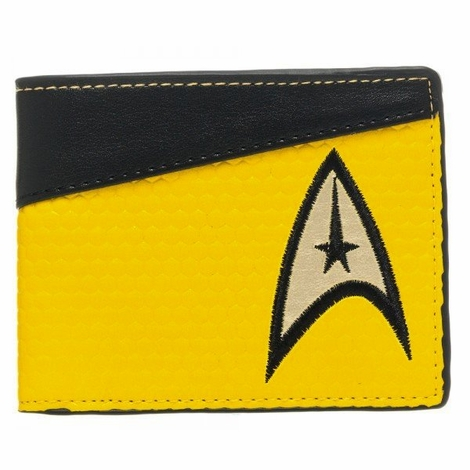 Star Trek Gold Command Wallet