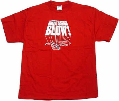 Star Trek Gonna Blow T-Shirt